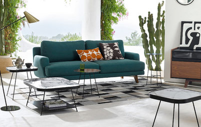 Try These 5 Color Palettes for a Midcentury Modern Look