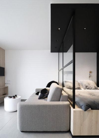 Montagne Salon by Manon Papin | Architecte d'Intérieur