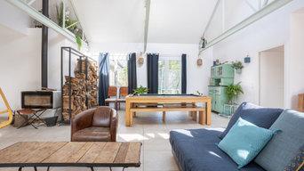 Salon Poêle à bois