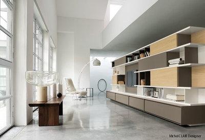 Moderne Salon by Michel Clair Design