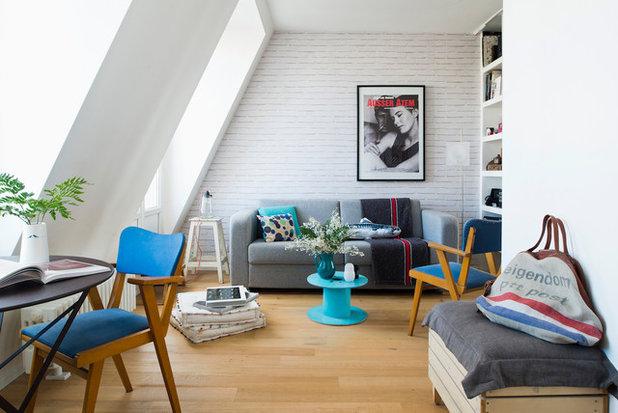 Scandinavian Living Room by Bambù / Olivier Bourdon