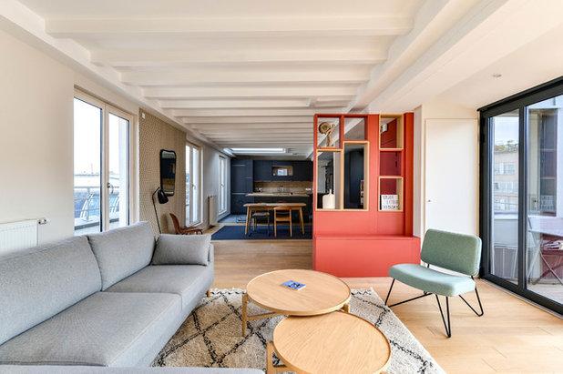 Modern Wohnbereich by Decor Interieur