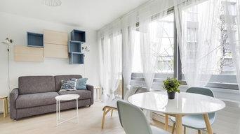 Studio 22 m² en location meublée
