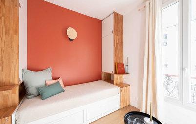 Avant/Après : Ambiance cocooning dans ce 14 m2 à Clichy