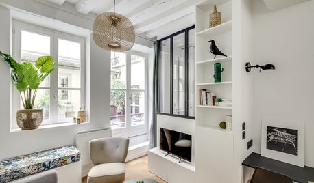 Houzz Tour: Brilliant Small-space Solutions Transform a Tiny Flat
