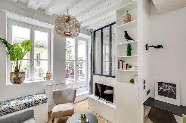 Scandinavian Living Room by Parisdinterieur