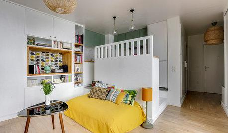 Le lit sous estrade, une idée gain de place plus qu'astucieuse