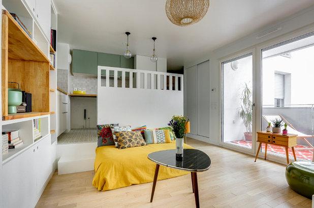 Scandinave Salon by SO/AR - Architecte d'intérieur