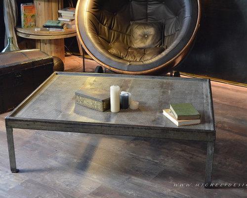 Nos Tables Basses De Style Industriel