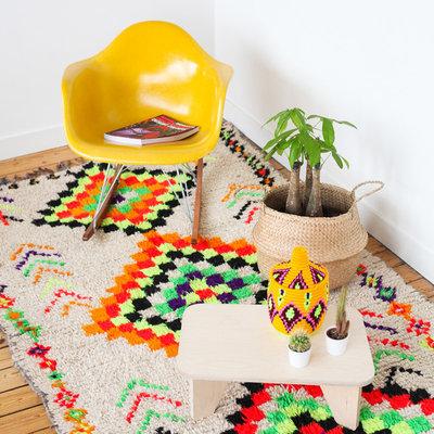 Mediterranean Living Room by Cabane Indigo