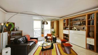 Transformation d'un appartement dans un style contemporain