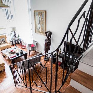 Transformation d'un appartement, touche exotique