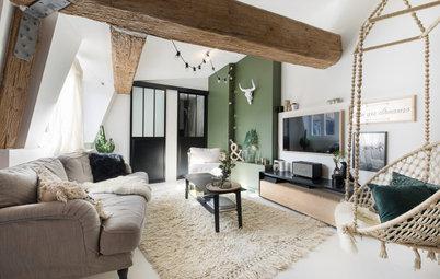 Avant/Après : Un plateau de 90 m2 réaménagé sous les toits à Lyon