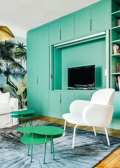 Classique Chic Salon by Decor Interieur