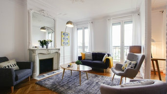 Un appartement Haussmannien au goût scandinave
