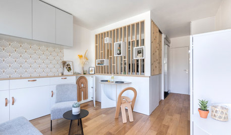 Houzz Tour: A Tiny Crash Pad Cleverly Reworked for a New Life