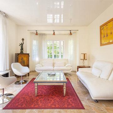 Un salon classique chic à la Garenne-Colombes