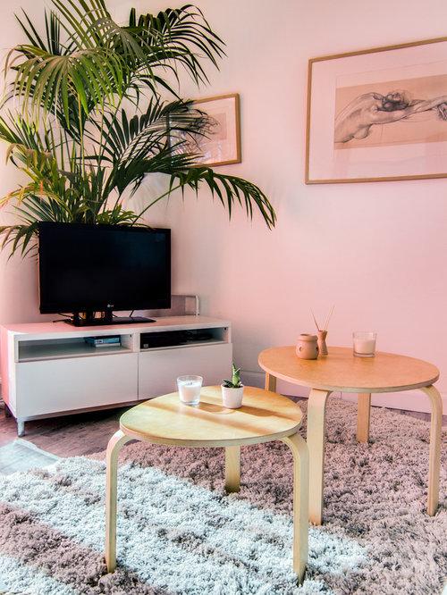 Unique Orange And Grey Living Room Pattern - Living Room Designs ...