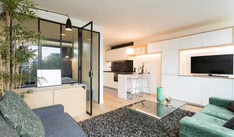 Vorher-Nachher: Ein Mini-Apartment wird schlau aufgeteilt
