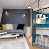 Houzz Tour: A Genius Layout Fits Three 'Rooms' into a Small Space