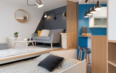 Paris Houzz Tour: Bed in a Drawer and a Concealed Corner in 20sqm