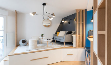 Tiny Home With Genius Storage and a Bed in a Drawer