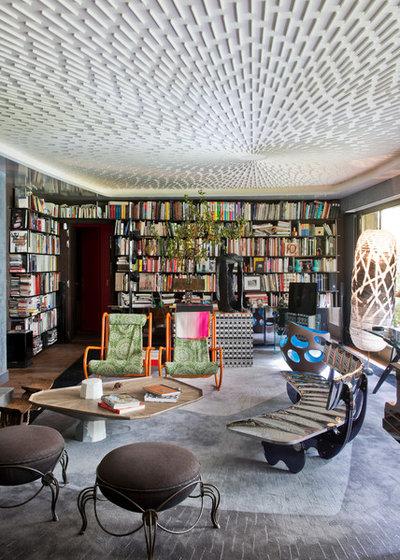 Éclectique Salon by Fabrice Ausset - Architecte DPLG