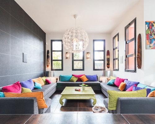 images de d coration et id es d co de maisons salon marocain. Black Bedroom Furniture Sets. Home Design Ideas