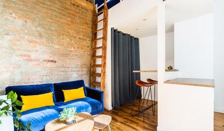 Avant/Après : À Vincennes une mini-maison ouvrière se mue en loft