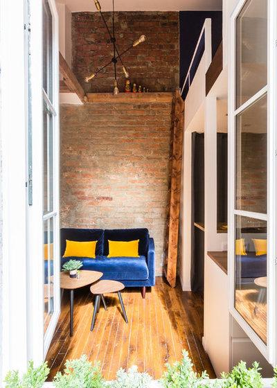 Industrial  Wohnbereich by NEVA Architecture Intérieure - Interior Design