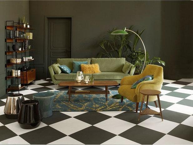 Midcentury Living Room by La Redoute Intérieurs