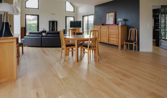 Wood flooring in Contemporary house