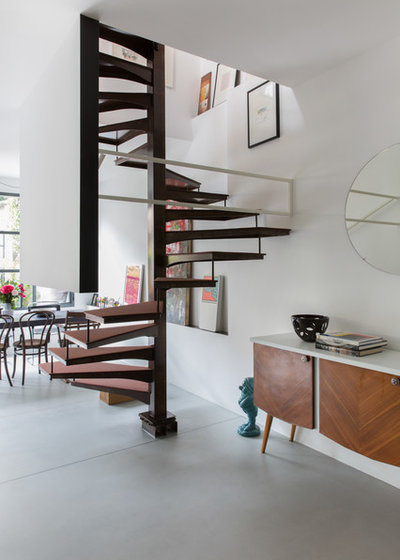 Industrial Staircase by sm*s stefaniamicottistudio