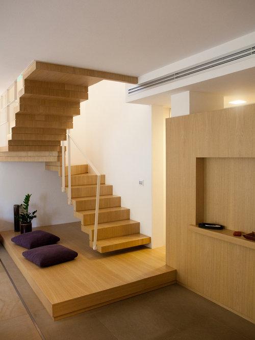 Foto e idee per scale scale a u moderne for Scale in legno prezzi
