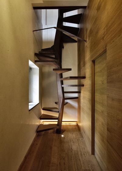 Éclectique Escalier by Elia Falaschi Fotografo