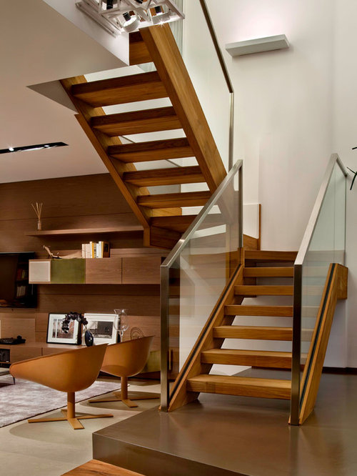 Foto e idee per scale scale moderne - Scale in legno moderne ...