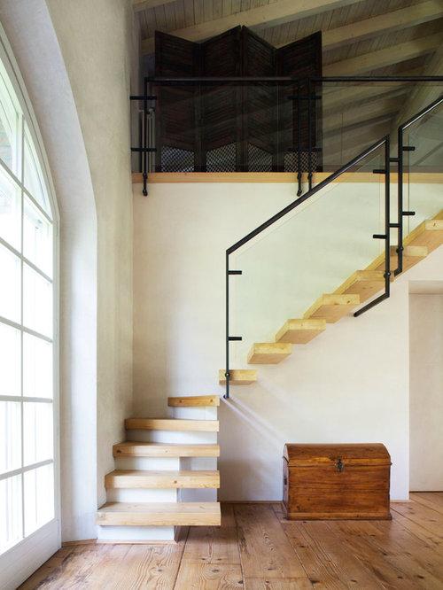 photos et id es d co d 39 escaliers claire voie m diterran ens. Black Bedroom Furniture Sets. Home Design Ideas
