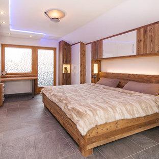 Camera da letto rustica Germania - Foto e Idee per Arredare