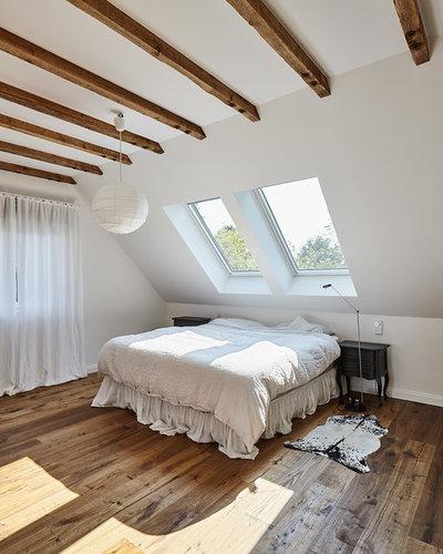Casa de campo Dormitorio by LückerBeckmannArchitekten