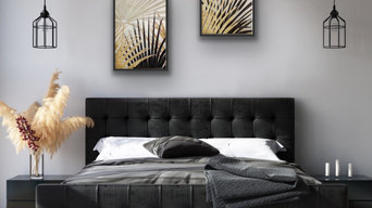 Art for contemporary bedroom