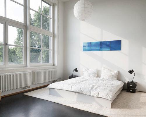 schlafzimmer im loft style ideen design bilder. Black Bedroom Furniture Sets. Home Design Ideas