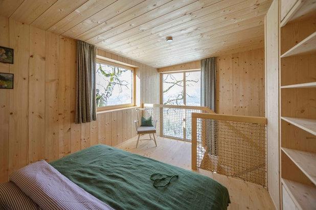 Skandinavisch Schlafzimmer by Architekturbüro Gappmaier