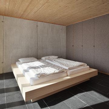 Bienenhus - Schlafzimmer im Untergeschoss