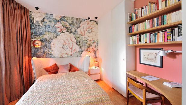 Mid-Century Schlafzimmer by Heerwagen Design Consulting