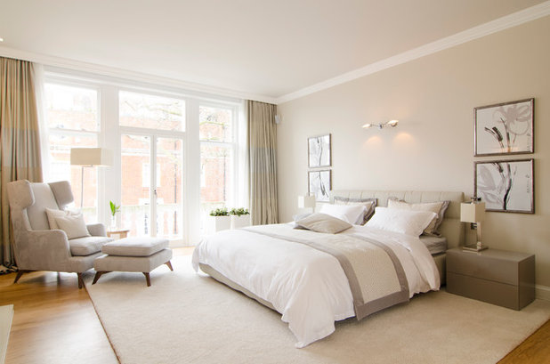 Transitional Bedroom by Aimo Plus