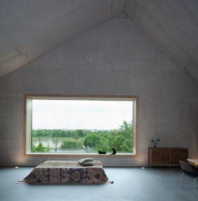 Minimalistisch Schlafzimmer by Fabi Architekten BDA