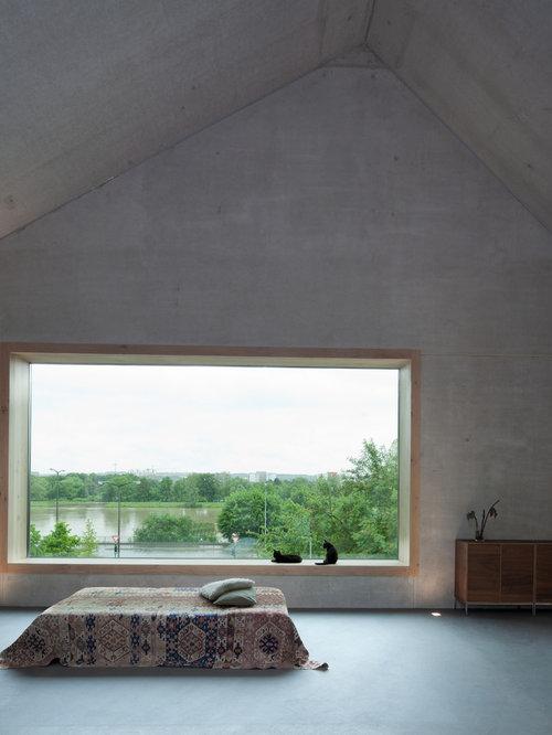 Designer Tomasso Ziffer großes fenster natürliches licht