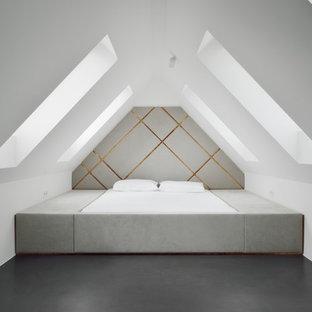 Grau Weisses Schlafzimmer Ideen Bilder Houzz