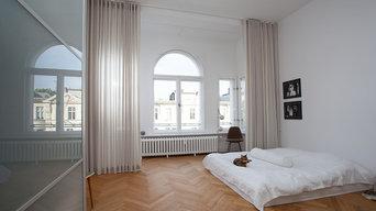 Decken hohe Vorhänge - Referenzprojekte in Berlin