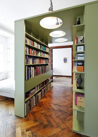 コンテンポラリー 寝室 by WIEWIORRA STUDIO